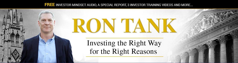 Ron Tank | Bulletproof Investor